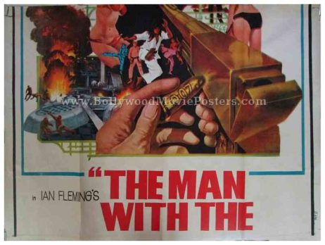 the man with the golden gun movie poster