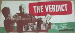 The Verdict 1946 old vintage movie handbills for sale online
