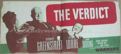 The Verdict 1946 old vintage movie handbills for sale online