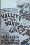 Valley of the Sun 1942 old vintage movie handbills for sale online in US, UK, Mumbai, India