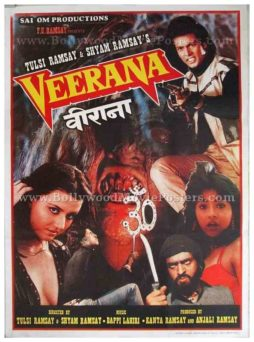 Veerana Ramsay brothers old vintage Bollywood horror movies posters for sale