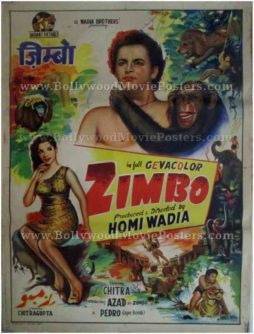 Zimbo Homi Wadia buy old bollywood posters for sale online