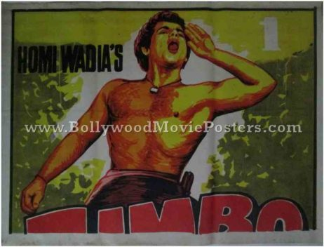 Zimbo Homi Wadia old vintage indian film posters for sale