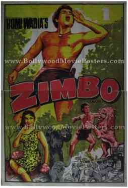 Zimbo Homi Wadia old vintage indian posters for sale